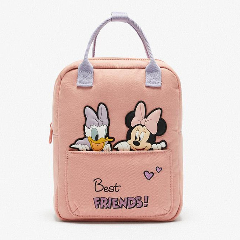 2020 Fashion Disney children's bag Mickey Mouse children's Bacpack spring Autumn Mickey Minnie Mouse pattern backpack Kids Gifts